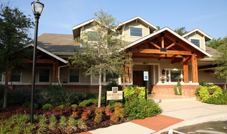 Information center at apartments in Irving