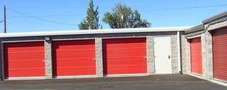 Exterior medford self storage units