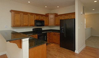 Apartments in Evansville kitchen