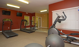 Evansville apartments fitness center