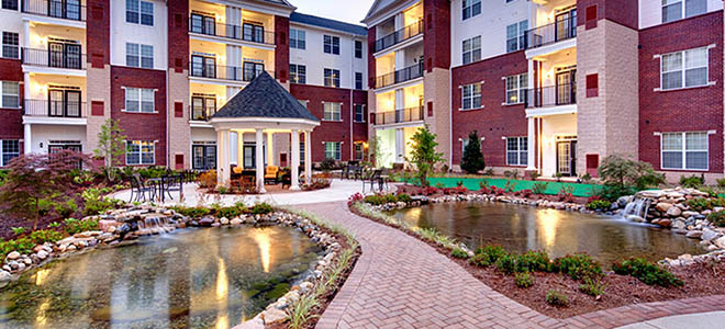 Amenities at Waltonwood Cary Parkway