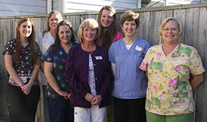 The team at Williamsport veterinary clinic