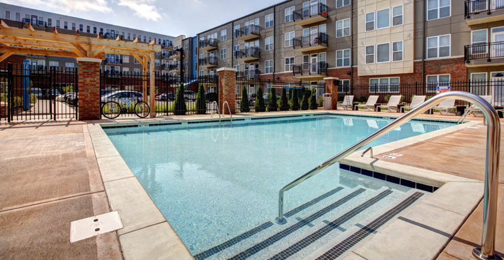 Swimming pool apartment indianapolis