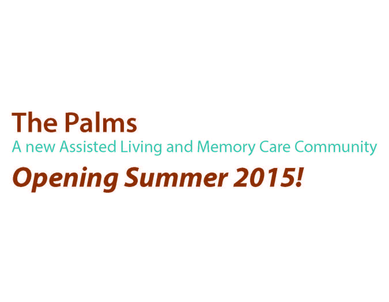 Coming soon placeholder the palms 2014