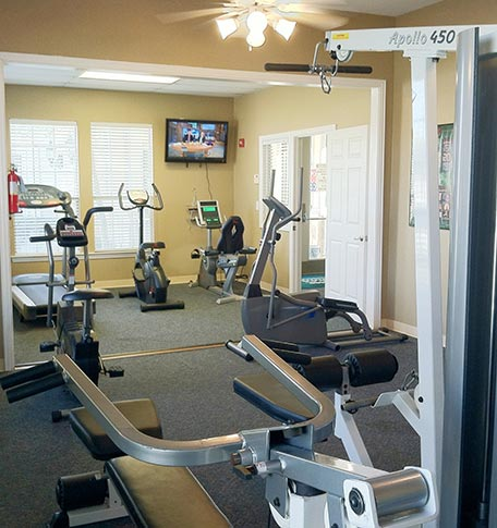 Fitness Center at manufactured homes in Euless, TX