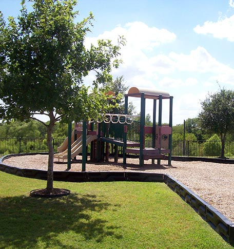 Playground at manufactured homes in Euless