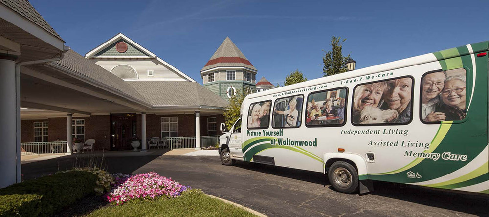 Canton senior living community bus
