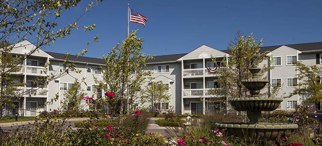 Assisted living at Waltonwood at Carriage Park