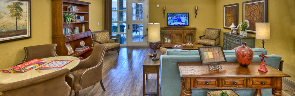 Interior view of senior living in Dallas, TX