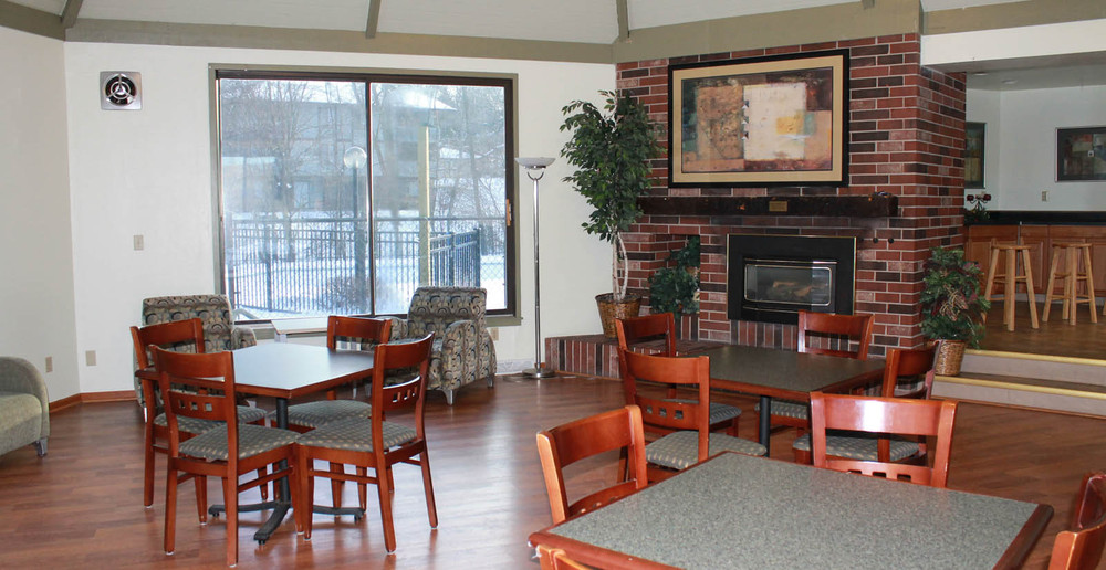 Greenfield apartments resident lounge