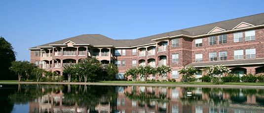 Senior living community in Kingwood Texas