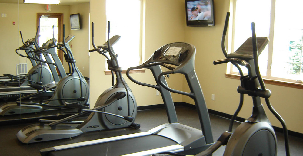 Work out in the Nashotah apartments fitness center