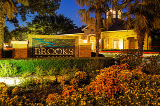 Brooks entry sign