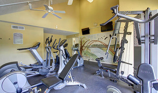 Apartments at fitness center