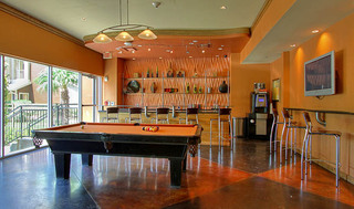 Billiards room at apartments