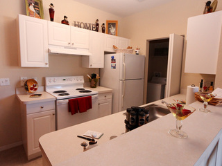 Kitchen at New Port Richey apartments