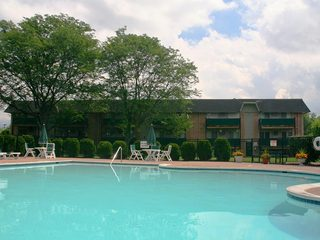 Dearborn Heights apartments offer a bright swimming pool