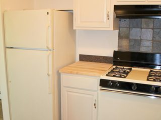 Kitchen inside Dearborn Heights apartments