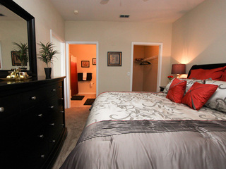 Bedrooms in New Port Richey apartments