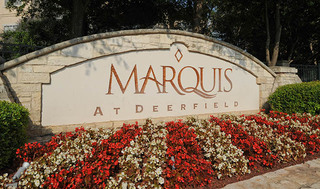 Marquis at deerfield apartments entrance