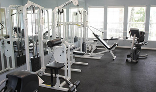 Workout facility at apartments