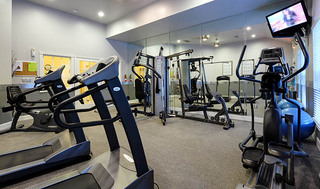 Apartments with fitness rooms