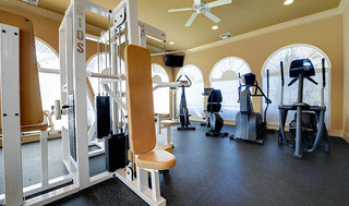 Fitness facility at apartments