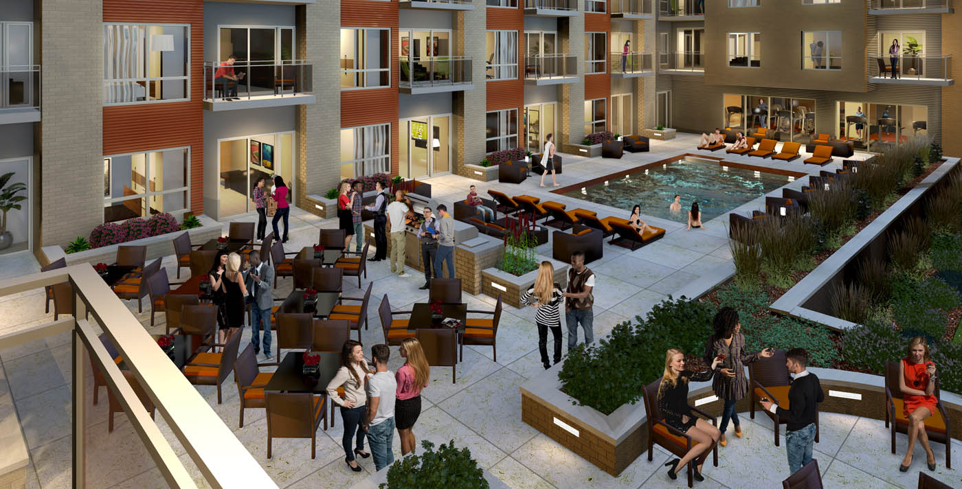 Downtown Madison Apartments near the State Capitol | Domain