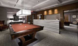 West new york apartments billiards room