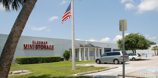 Spacious storage facility exterior in tampa