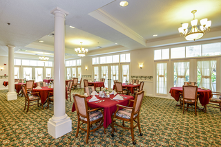 Arbor oaks greenacres dining room