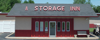 Self storage front office in Alton