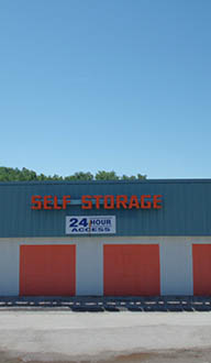 Self storage unit sizes and prices in Ballwin