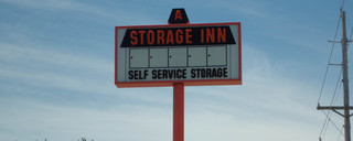 Highway 94 self storage sign in Saint Charles