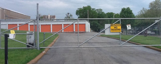 Gated security for self storage in st louis