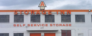 Self storage in saint louis facility entrance
