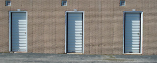 Self storage unit doors in st louis
