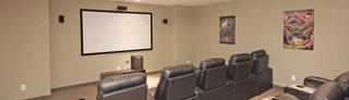Gatineau apartments feature a movie theater room