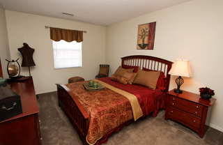 Village green model bedroom 109