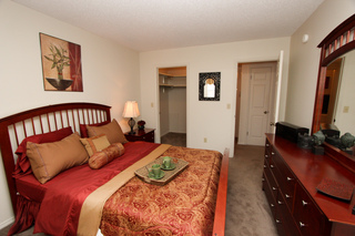 Village green model bedroom 110