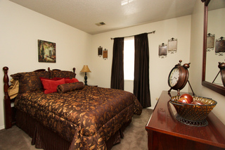 Village green model bedroom 122