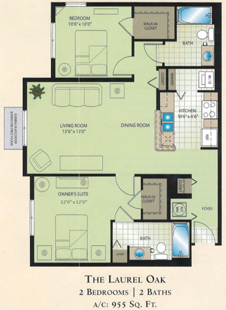 Condominium rates floor plans boynton beach florida The laurels floor plan