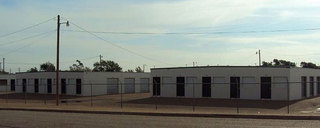 Amarillo self storage outside