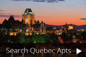 Search our Quebec Apartments