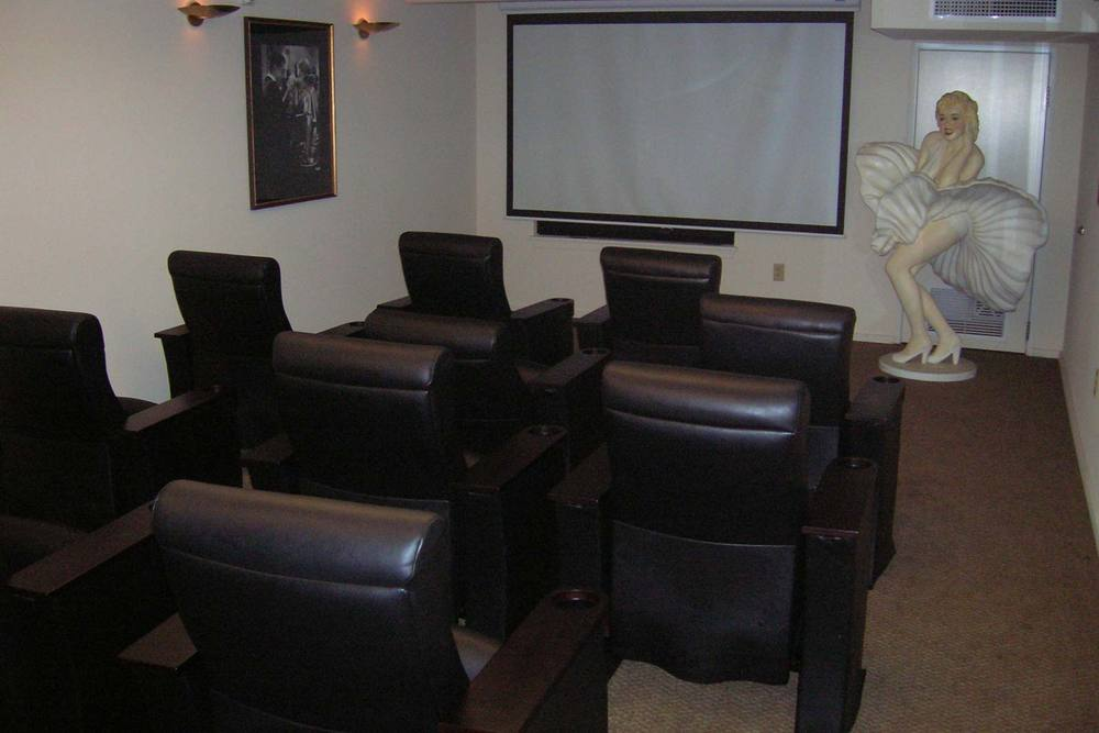 Enjoy a film with friends at the theater inside our Portland senior living community