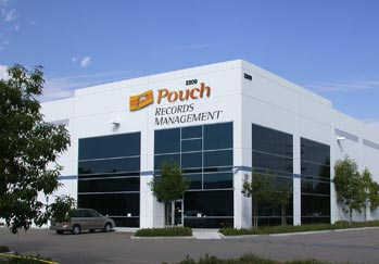 Pouch Records Management corporate building