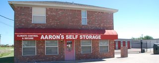 Exterior view of our Waco self storage office