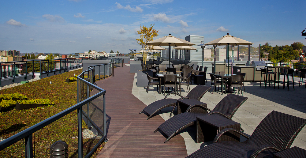 Sun deck at the lyric