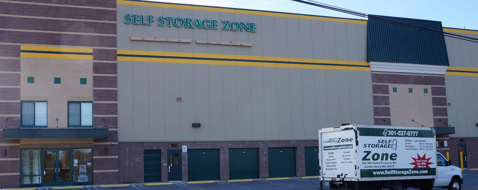 Self storage gaithersburg front