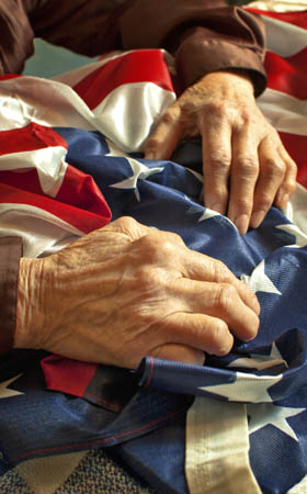 Senior veteran services offered at Caruth Haven Court in Dallas